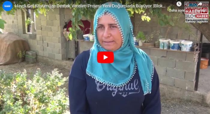 Haydi Gel Köyümüze Destek Verelim Projesi Yeni Doğumlarla Büyüyor